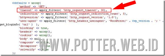 error plugin potterwebid